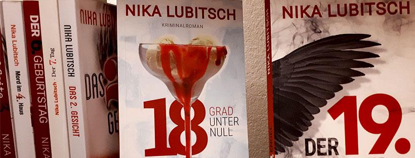 Zwei spannende brandneue Psychothriller der Bestsellerautorin Nika Lubitsch